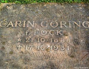 Carin Görings grav 2015