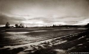Värmländsk höstskymning 1978